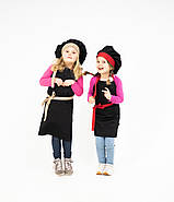 Комплект дитячий Latte Kids  5-7років | Фартух + Ковпак + Нарукавники, фото 6