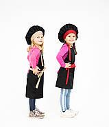 Комплект дитячий Latte Junior 7-12років | Фартух + Ковпак + Нарукавники, фото 5