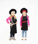 Комплект дитячий Latte Junior 7-12років | Фартух + Ковпак + Нарукавники, фото 4
