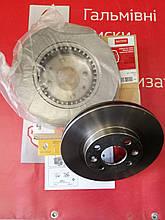Комплект вентильованих гальмівних дисків Renault Sandero (Motrio 8671005976)