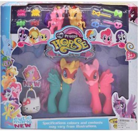 Набор Моя маленькая Пони Pony My Pretty Horse 1264