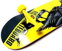 СкейтБорд деревянный от Fish Skateboard raven, фото 2