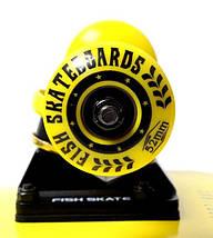 СкейтБорд деревянный от Fish Skateboard raven, фото 3