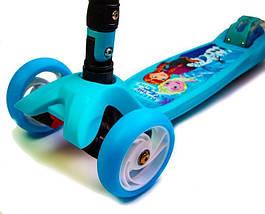 """Самокат Maxi Smart Disney """"Frozen"""".Складная ручка!, фото 3"""