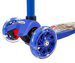 Самокат Maxi Scooter Disney. Щенячий патруль, фото 2