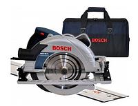 Циркулярная пила BOSCH GKS 85 G + сумка + рейка FSN 1600