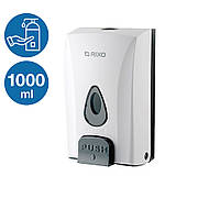 Настенный дозатор для антисептика 1000 мл Rixo Maggio DS188W диспенсер для дезинфицирующей жидкости