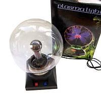 Плазменный шар молния Plasma ball диаметр 12 см