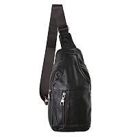 Мужская кожаная сумка-рюкзак Keizer 3 л