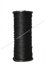 Нить капроновая обувная Текс №375 100м цвет черный