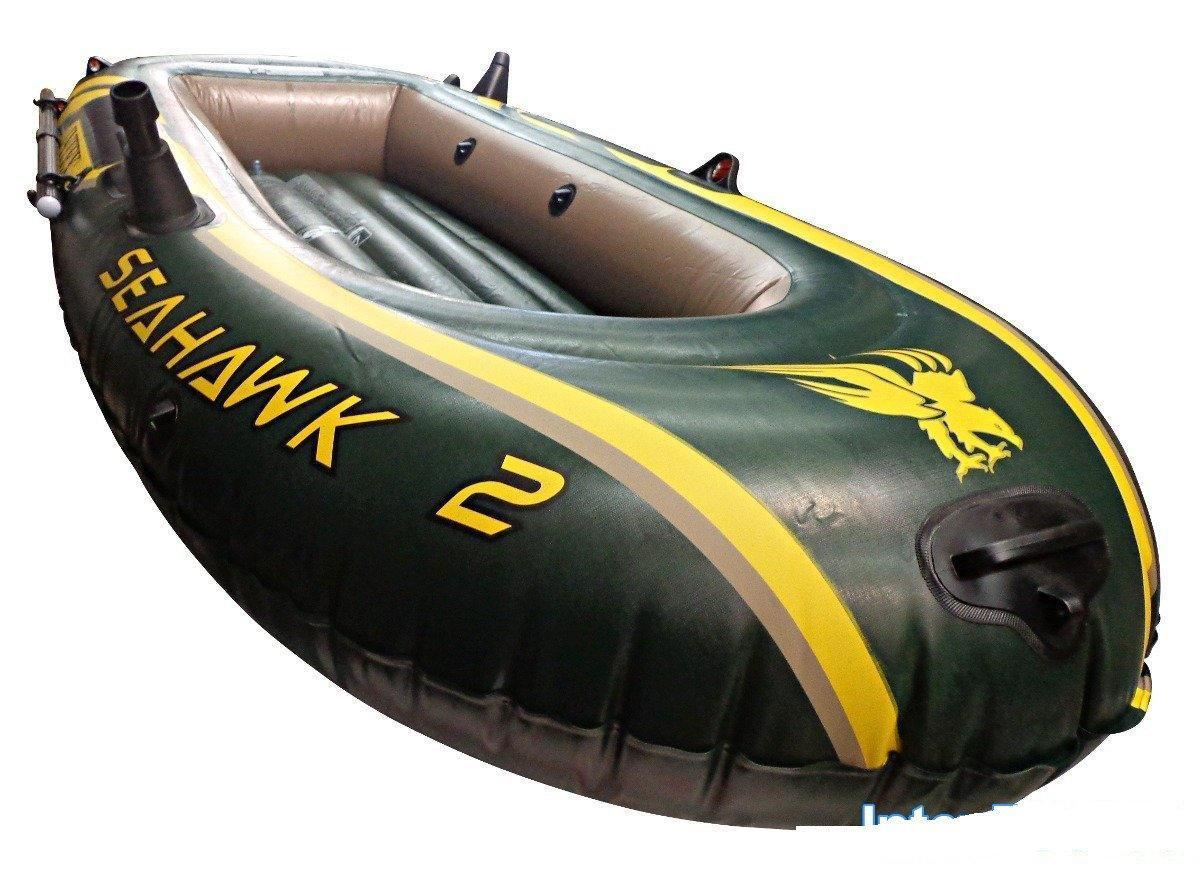 Лодка надувная Intex 68347 Seahawk Двухместная