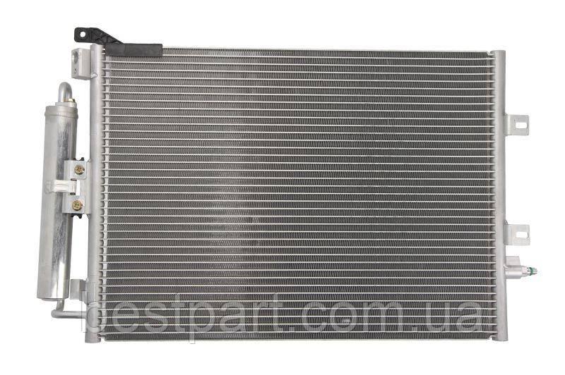 Радіатор кондиціонера   RENAULT CLIO, CLIO III, MODUS 1.4/1.5D/1.6 09.04-