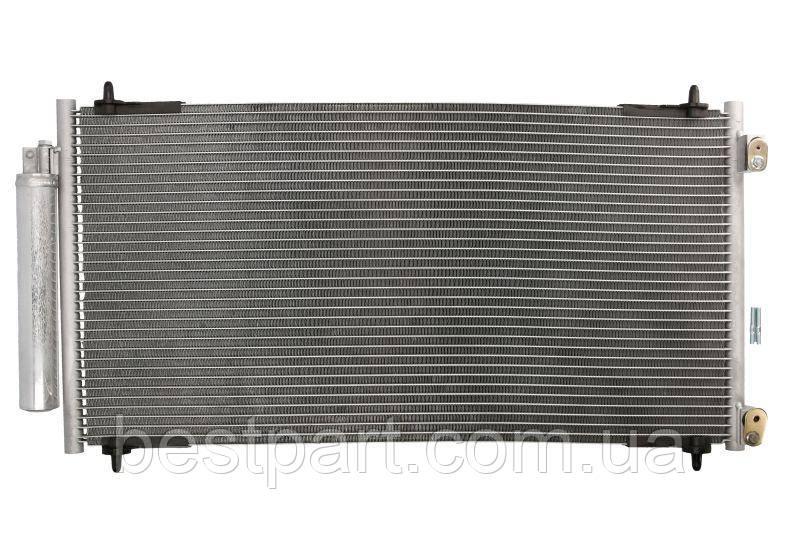 Радіатор кондиціонера  CITROEN C8; FIAT ULYSSE; LANCIA PHEDRA; PEUGEOT 807 2.2D 06.02-
