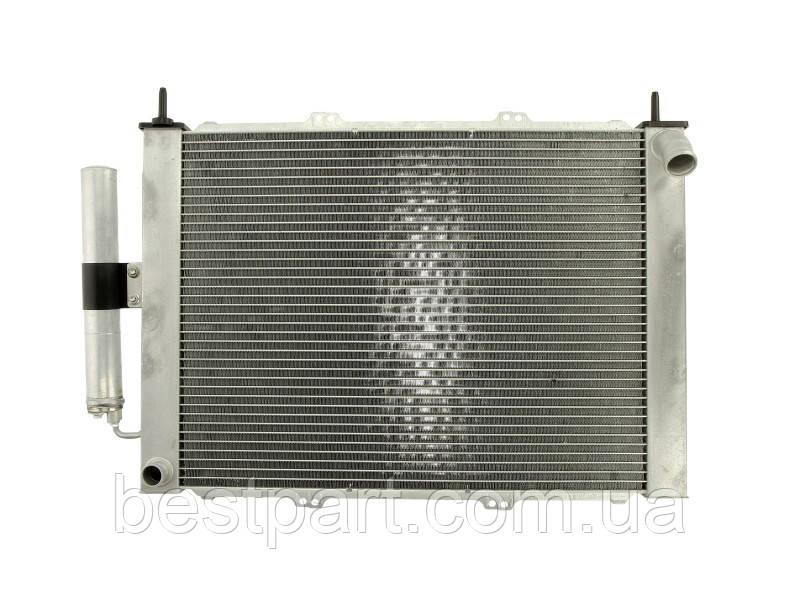 Радіатор кондиціонера  RENAULT KANGOO EXPRESS 1.2/1.5DCI/1.6 06.01-