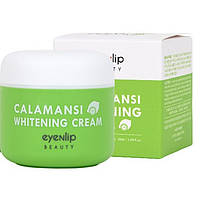 Осветляющий крем для лица с экстрактом каламанси Eyenlip Calamansi Whitening Cream 50 мл (8809555250357), фото 2