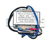 Трансформатор для кондиционера Samsung DA26-00019A (TDE-6.0-B1,16,5VDC,0,3A)