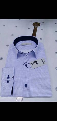 Мужская рубашка стрейч-коттон Palmen с принтом, фото 2