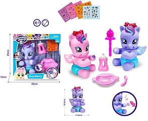 Музыкальный пони с крыльями Romantic Merry Kronos Toys 88424, фото 2