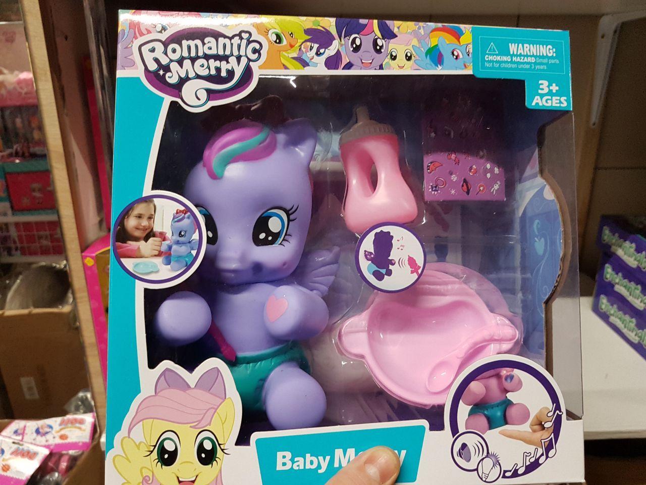 Музыкальный пони с крыльями Romantic Merry Kronos Toys 88424