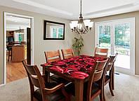 Наклейка на стол Zatarga Бутоны роз 01 650х1200мм для домов, квартир, столов, кофейн, кафе