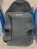 Авточехлы NIKA DAF XF105 1+1 2005 автомобильные модельные чехлы на для сиденья сидений салона DAF Даф XF105, фото 1