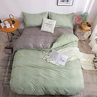 """Комплект постельного белья """"Зеленая волна"""" (двуспальный-евро), фото 1"""