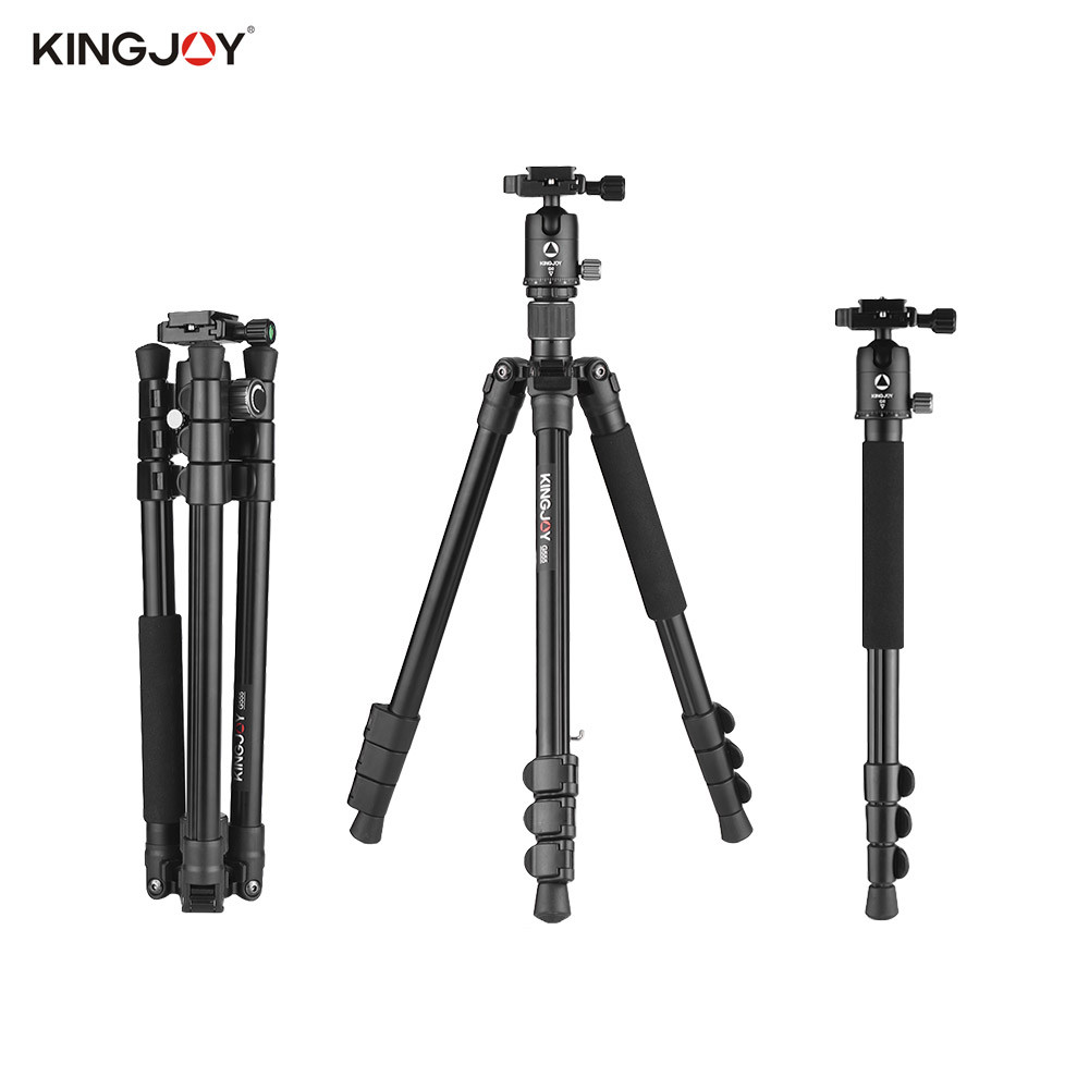 Штатив  для фото и видео съемки Kingjoy G555 +G0 PRO (трипод + монопод 2 в 1)