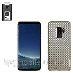 Чехол для Samsung Galaxy S9 Plus G965 (2018) - Nillkin Air Case, перфорированный, пластик, золотистый