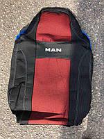 Авточехлы NIKA MAN TGX / TGS 1+1 2007 автомобильные модельные чехлы на для сиденья сидений салона MAN Ман TGX