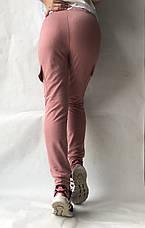 Спортивные брюки с накладными карманами N° 125 розовый, фото 3