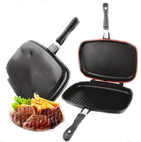 Сковорода двухсторонняя для гриля и жарки, фото 1