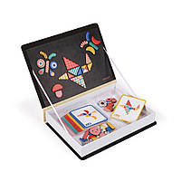 Игра Магнитная книга - Учим геометрические формы через игру, 3+