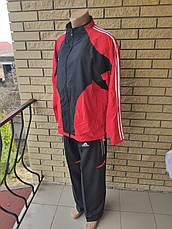 Спортивный костюм мужской больших размеров реплика ADIDAS, Корея, фото 2