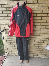 Спортивный костюм мужской больших размеров реплика ADIDAS, Корея, фото 3