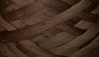 Шерсть для валяния австралийский меринос 23 микрон (10 грамм = 25 см) - шоколад. Фелтинг. Вовна валяння