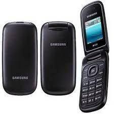 Раскладушка Samsung E1272 Duos Garnet чёрный