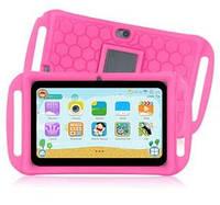"""Детский Планшет KidsPad 7415 QuadCore, 7"""" + Чехол Розовый"""
