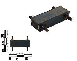 Подушка опоры двигателя ГАЗ- Газель 3302, 2410 задняя (КПП). 24-1001050Б (ЯзРТИ)