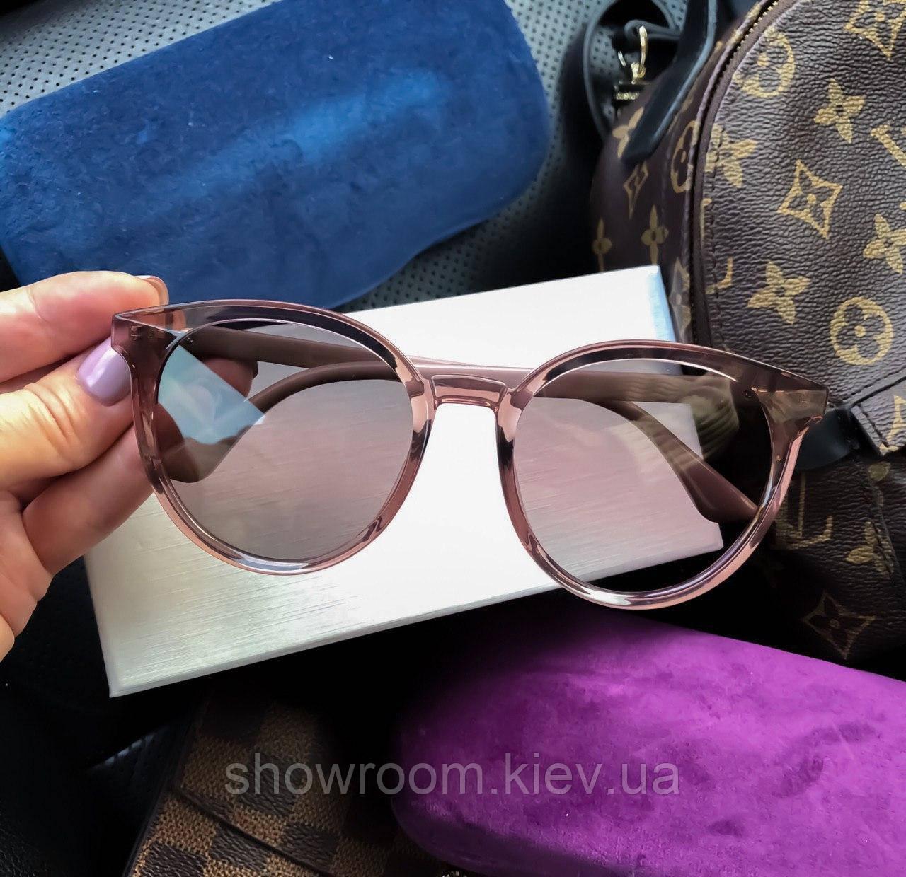 Женские солнцезащитные очки с поляризацией (3899) rose