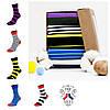 Набор ярких носков из 5 пар Wide Stripe Box (005), фото 2