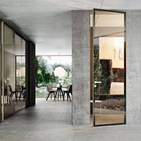 Двери скрытого монтажа зеркало с 2-х сторон откр. внутренне