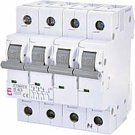 Автоматический выключатель ETIMAT 6 3p+N D13 ETI, 2166515