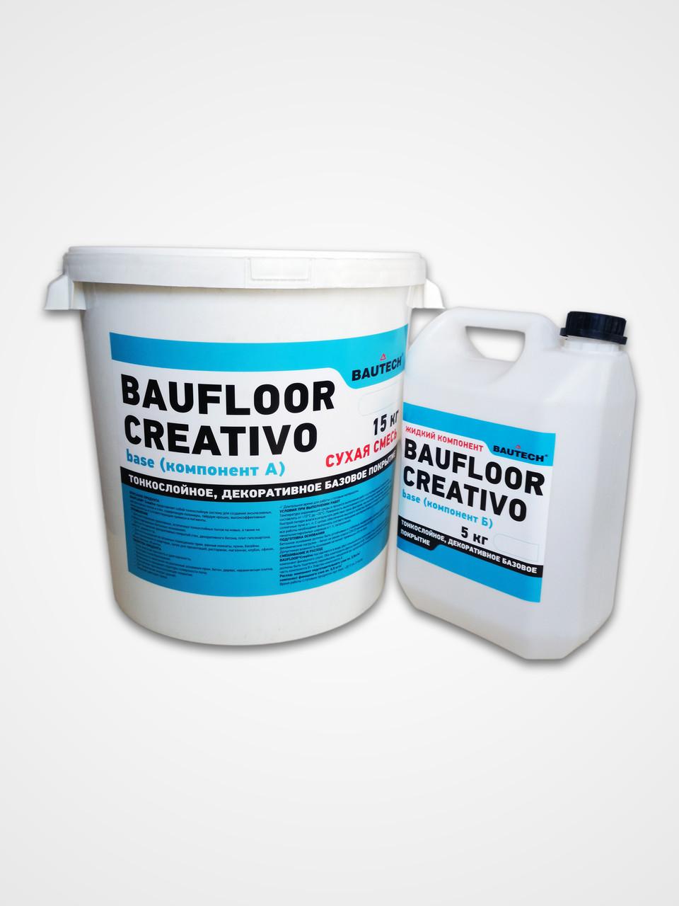 Тонкошарове декоративне покриття CREATIVO Base