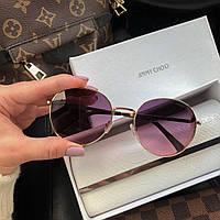 Жіночі брендові сонцезахисні окуляри (7315) rose