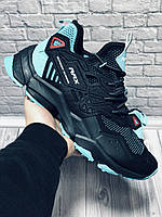 Кроссовки Мужские Rax (Рекс) Outdoor Running Original,Black/Turquoise