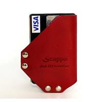 Компактный кошелёк Scappa WM-10 Scarlet