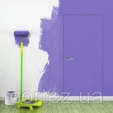 Двери скрытого монтажа грунтованные наружный/RAL9003 внутри, откр. нуружное