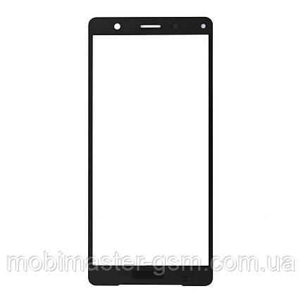 Корпусное стекло Sony Xperia XZ2 Compact H8314 black, фото 2