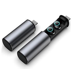 Беспроводные bluetooth наушники TWS S5 Серебро