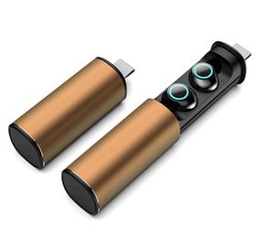Беспроводные bluetooth наушники TWS S5 Золото